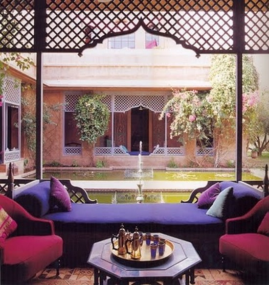 Дизайн интерьера виллы Кадири в марокканском стиле