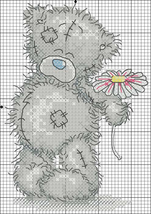 Мишки Teddy (схемы для