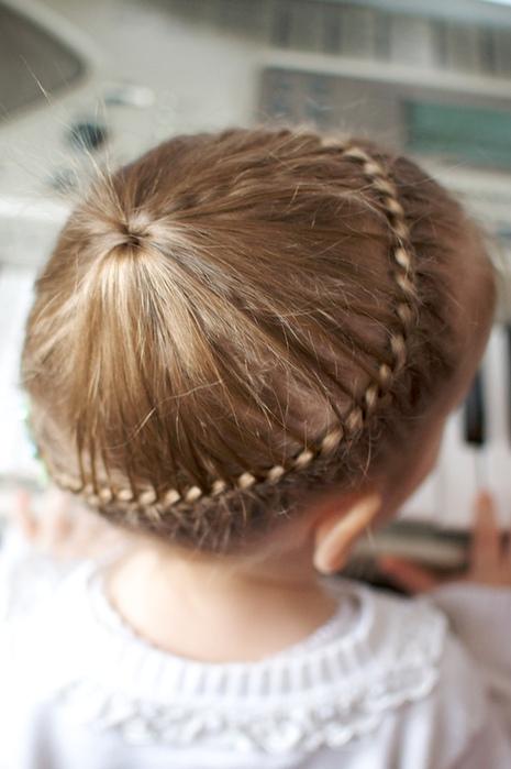 Причёски для маленьких девочек