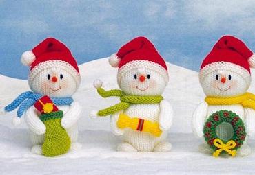 Снеговик связаный