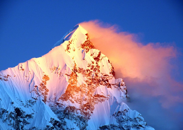 горы в непале фото