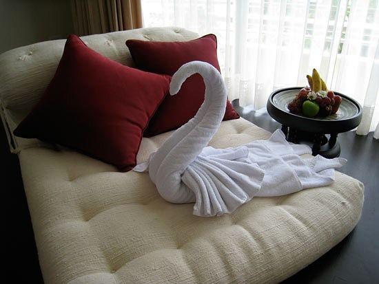 Фигуры с полотенец своими руками