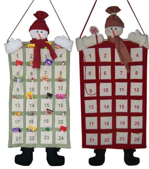 Календари новогодние своими руками