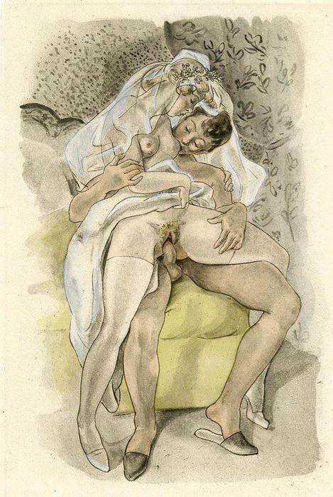 Нарисованная эротика галерея