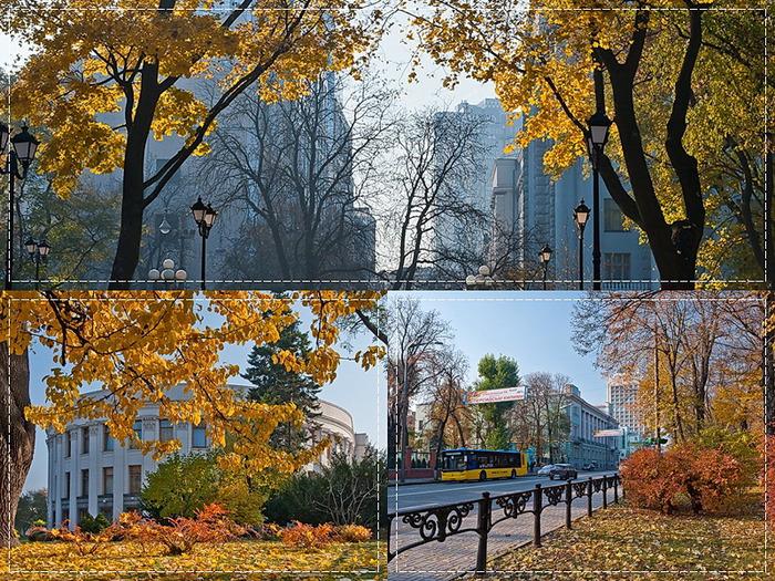 1 Улица Михаила Грушевского сквозь призму осени (700x525, 266Kb)