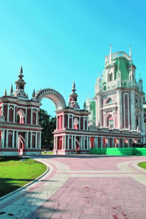 Памятник истории и культуры 18-19...  Усадьба Царицыно.