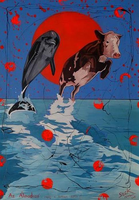 Яркий сюрреализм в искусстве Эда Нэроу (Ed Narrow) - 143 (484x700, 245Kb)