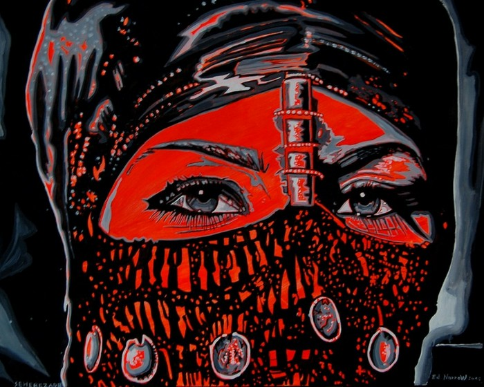 Яркий сюрреализм в искусстве Эда Нэроу (Ed Narrow) - 455ed69302e2 (700x560, 117Kb)