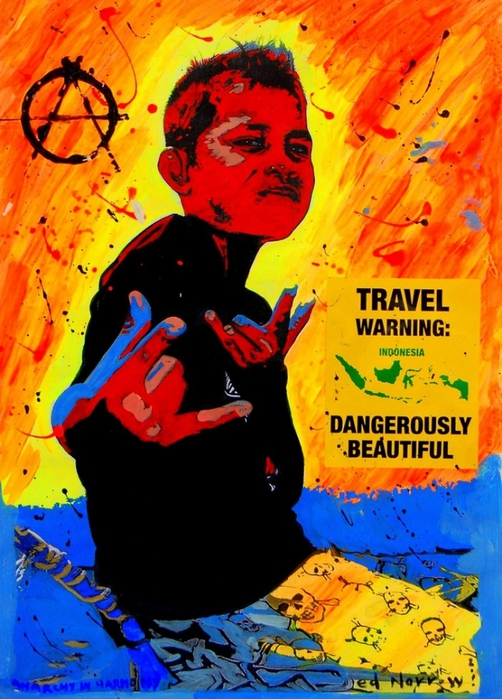 Яркий сюрреализм в искусстве Эда Нэроу (Ed Narrow) - Anarchy in the Harmony yo (502x700, 296Kb)