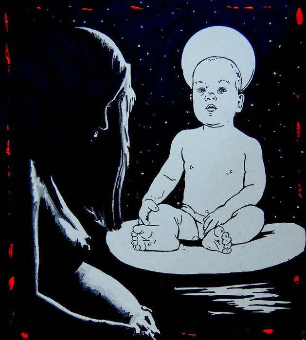 Яркий сюрреализм в искусстве Эда Нэроу (Ed Narrow) - as (629x700, 80Kb)