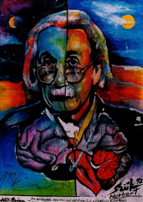 Яркий сюрреализм в искусстве Эда Нэроу (Ed Narrow) - brain (497x700, 284Kb)