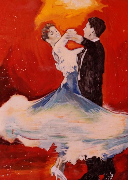 Яркий сюрреализм в искусстве Эда Нэроу (Ed Narrow) - dance (500x700, 247Kb)