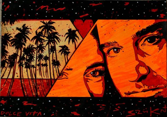 Яркий сюрреализм в искусстве Эда Нэроу (Ed Narrow) - Dolce Vita (700x490, 136Kb)