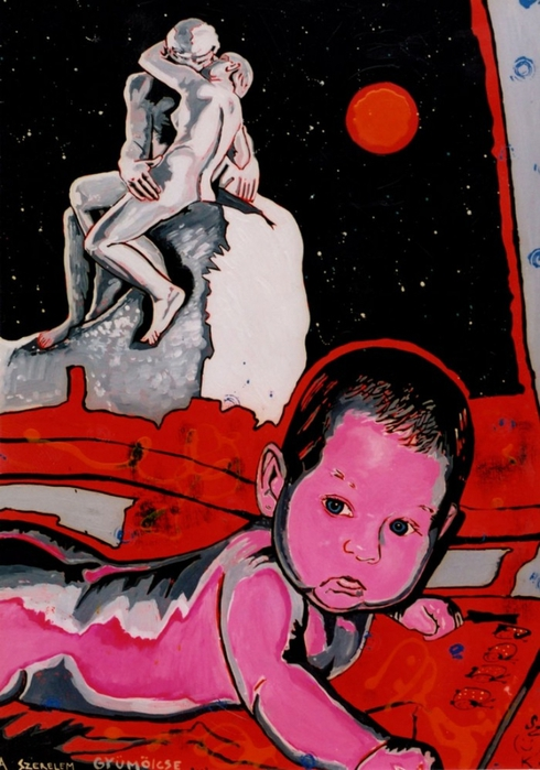 Яркий сюрреализм в искусстве Эда Нэроу (Ed Narrow) - erotic (490x700, 251Kb)