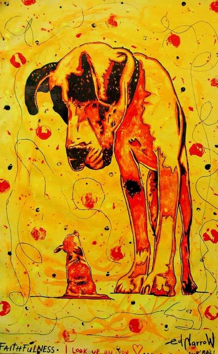 Яркий сюрреализм в искусстве Эда Нэроу (Ed Narrow) - faithfulness1 (431x700, 307Kb)