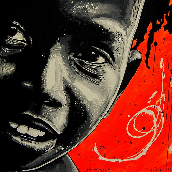 Яркий сюрреализм в искусстве Эда Нэроу (Ed Narrow) - Jamaica 2 (700x699, 171Kb)