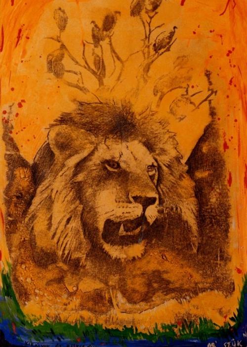 Яркий сюрреализм в искусстве Эда Нэроу (Ed Narrow) - king (500x700, 296Kb)