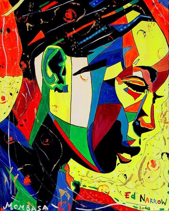Яркий сюрреализм в искусстве Эда Нэроу (Ed Narrow) - mom (560x700, 160Kb)