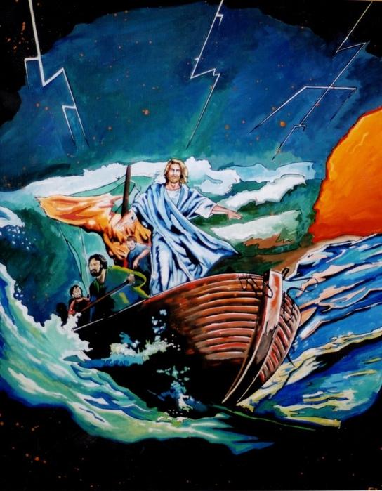 Яркий сюрреализм в искусстве Эда Нэроу (Ed Narrow) - ocean (544x700, 289Kb)