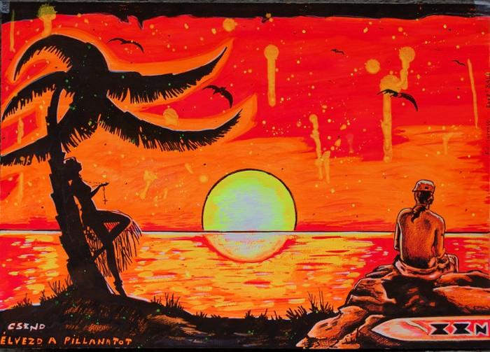 Яркий сюрреализм в искусстве Эда Нэроу (Ed Narrow) - Silence (700x503, 137Kb)