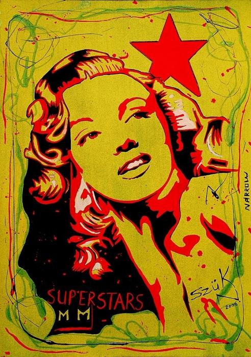 Яркий сюрреализм в искусстве Эда Нэроу (Ed Narrow) - Star1 (492x700, 349Kb)