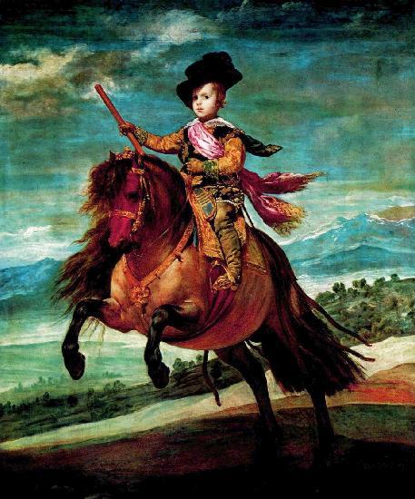 Конный портрет принца Балтазара . (457x550, 57Kb)