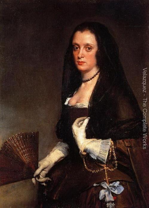 Дама с веером 1640 (499x700, 91Kb)