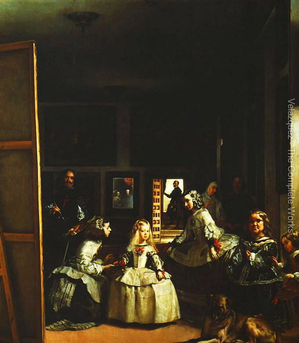 Семья Филиппа IV (Las Meninas) (610x700, 87Kb)