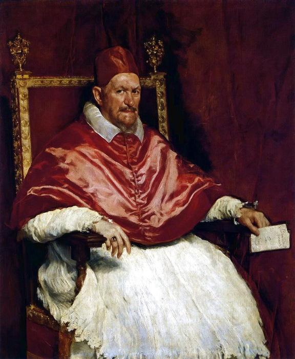 Папа Иннокентий X, 1650, Галерея Дориа-Памфили, Рим (576x700, 144Kb)