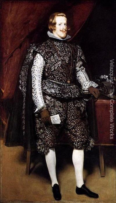 Филипп IV в коричневом и серебре 1631-32 (399x700, 87Kb)
