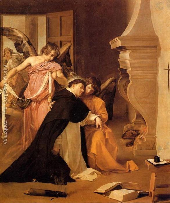 Искушение святого Фомы Аквинского (585x700, 131Kb)