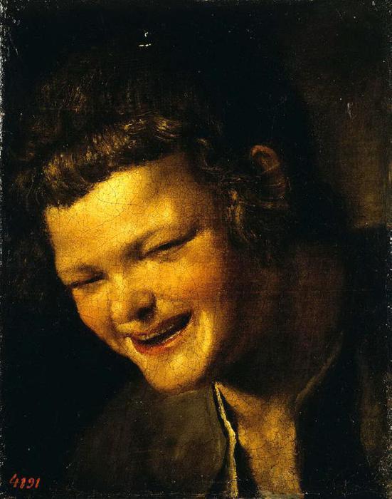 Голова смеющегося мальчика (551x700, 52Kb)