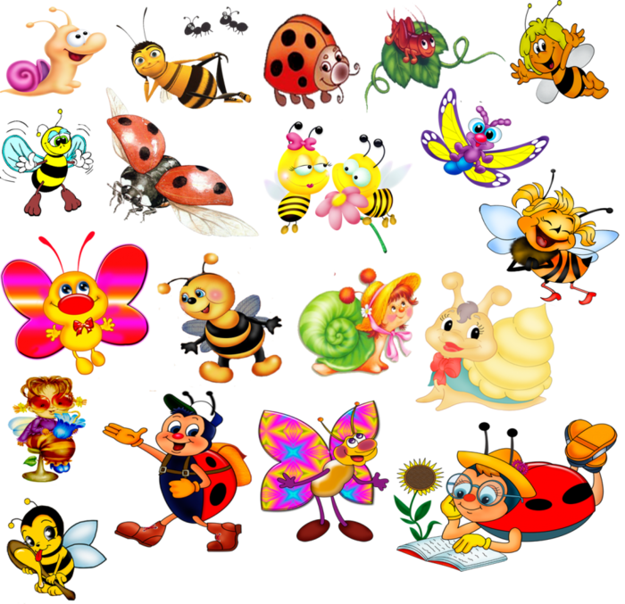 Раскраски для детей божьи коровки