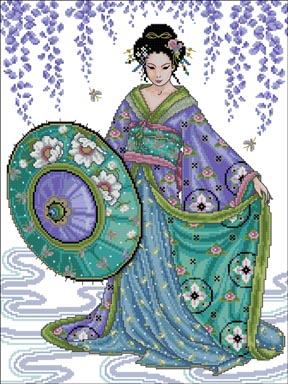 3937664_Blue_Geisha (288x384, 85Kb)