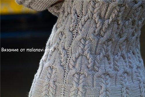 Вязаное платье спицами 500 2 (500x334, 50Kb)