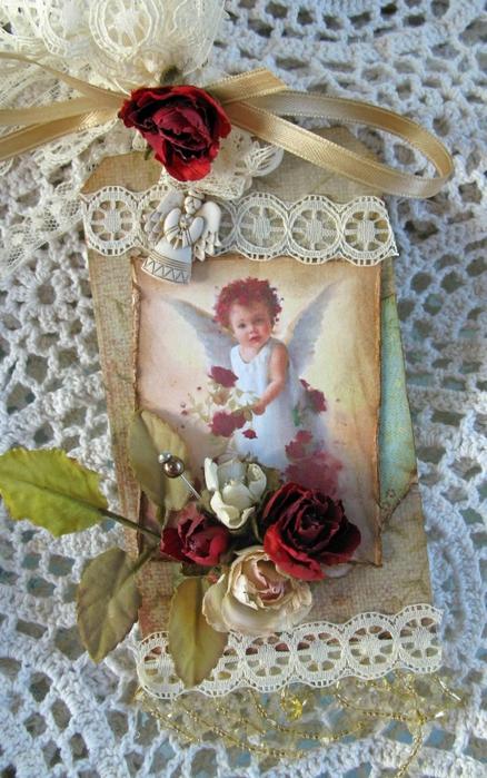 Rose Angel (438x700, 286Kb)