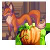 Лисица и тыква (100x100, 16Kb)