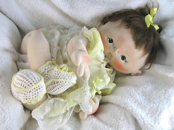 Мягконабивные куклы своими руками