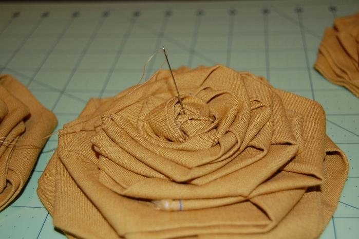 Как сделать цветок из трикотажа