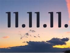 Попробуйте и вы использовать волшебные вибрации этой даты: 11.11.11