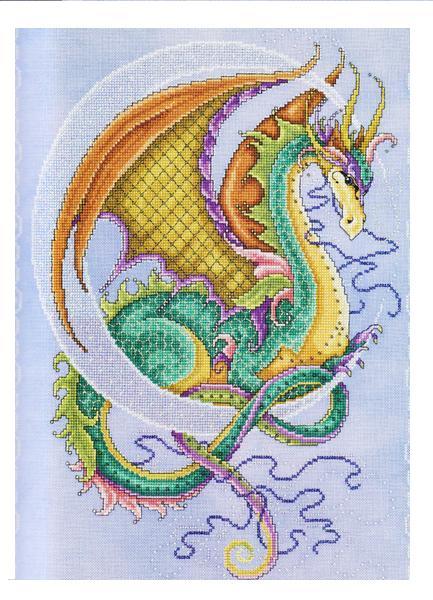 разноцветный дракон карт