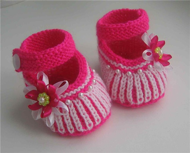 Туфельки-пинетки спицами для малышей ,мастер-класс/4683827_20120720_212216 (610x485, 150Kb) .