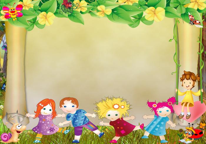 Детские фоны шаблоны для стендов
