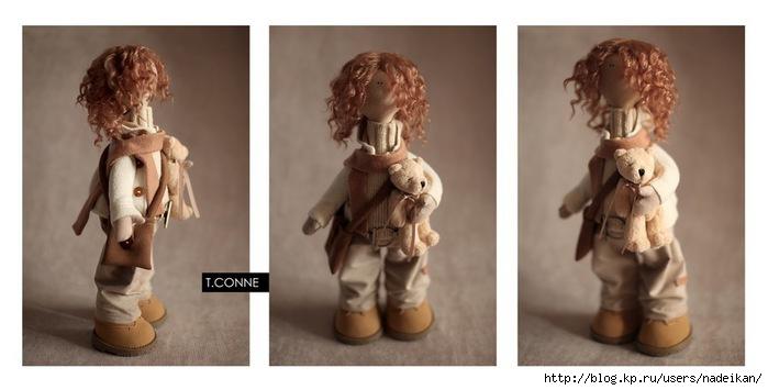 Куклы Татьяны Коннэ (Выкройка) .