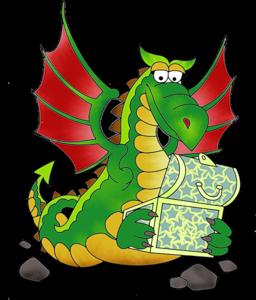 Трёхголовый дракон Змей Горыныч.