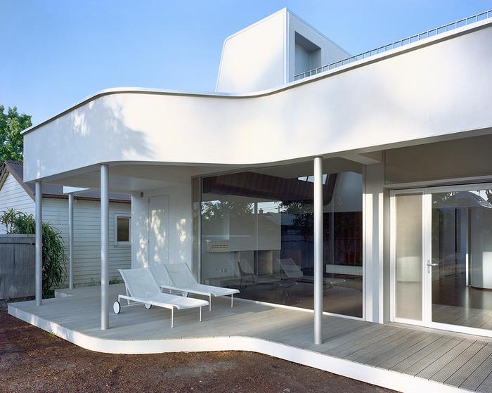 Оригинальный проект современного дома в Мельбурне