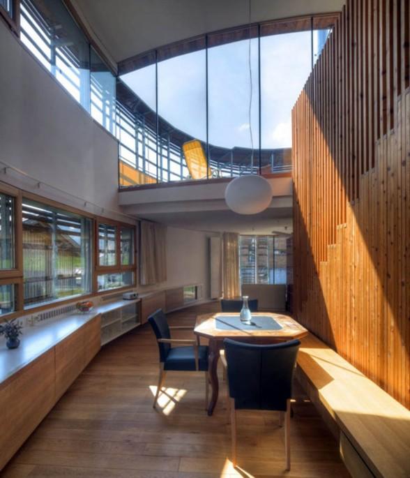 Современное строительство деревянных домов из бруса Деревянный дом в Австрии