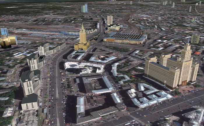 Площадь трёх вокзалов и окрестности