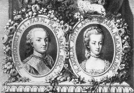 Парный портрет Фердинанда и Марии-Амалии (571x396, 150Kb)