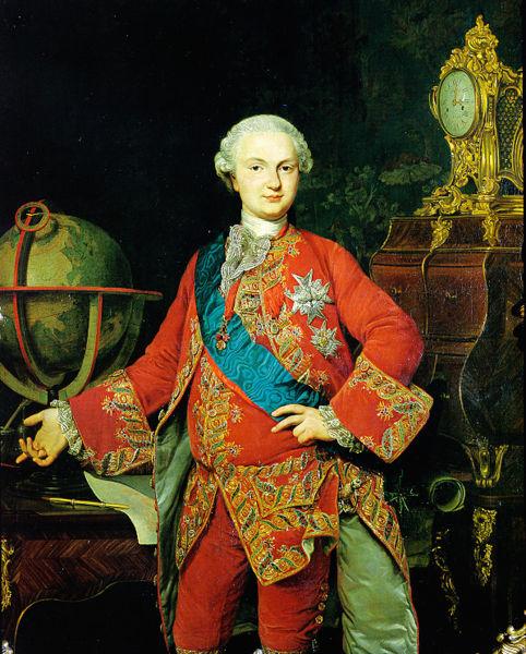 Портрет Фердинанда Пармского, Пьетро Мельхиоро Феррари (482x600, 100Kb)
